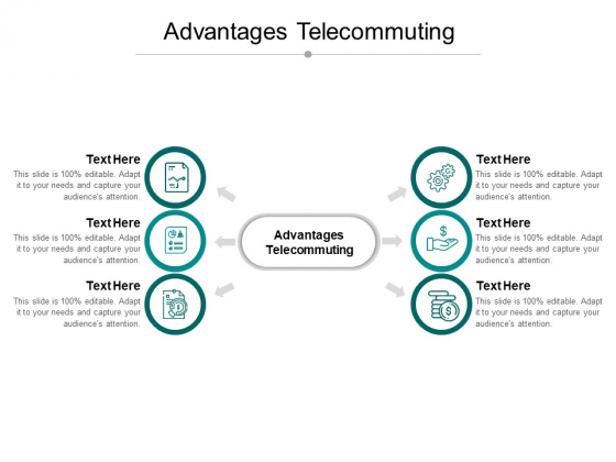 Advantages Telecommuting Ppt PowerPoint Presentation Outline Styles Cpb