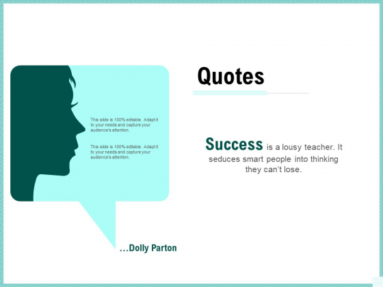 Advertisement Administration Quotes Ppt PowerPoint Presentation Show Sample PDF