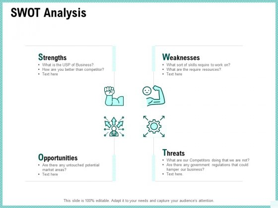 Advertisement Administration SWOT Analysis Ppt PowerPoint Presentation Summary Show PDF