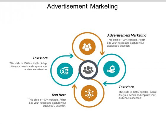 Advertisement Marketing Ppt PowerPoint Presentation Pictures Structure Cpb