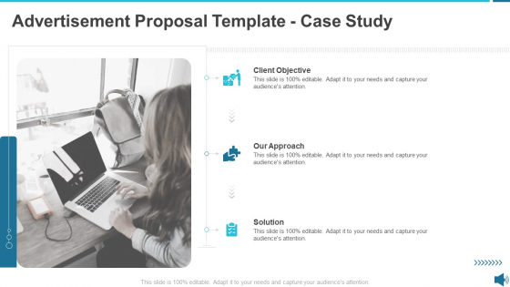 Advertisement Proposal Template Case Study Ppt Infographic Template Show PDF