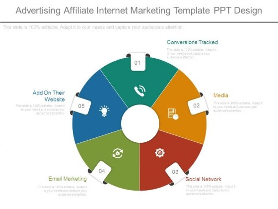 Advertising Affiliate Internet Marketing Template Ppt Design