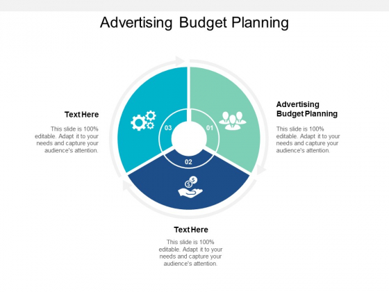 Advertising Budget Planning Ppt PowerPoint Presentation Outline Shapes Cpb