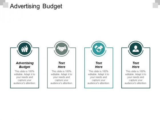 Advertising Budget Ppt PowerPoint Presentation Pictures Layout Cpb
