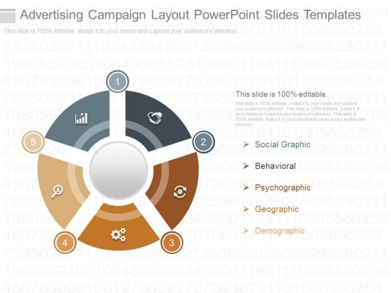 Advertising Campaign Layout Powerpoint Slides Templates