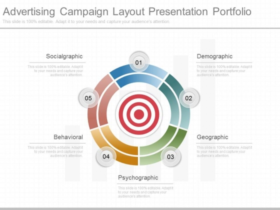 Advertising Campaign Layout Presentation Portfolio