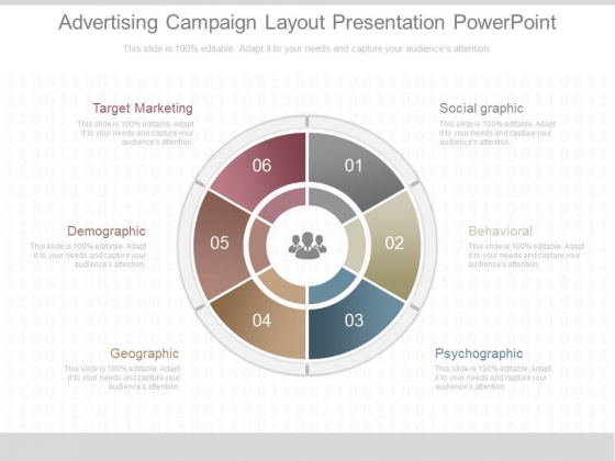 Advertising Campaign Layout Presentation Powerpoint