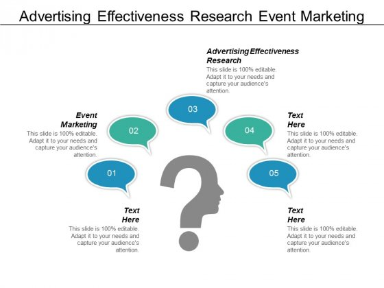 Advertising Effectiveness Research Event Marketing Ppt PowerPoint Presentation Diagrams