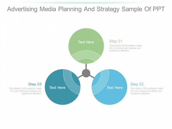 Advertising Media Planning And Strategy Sample Of Ppt