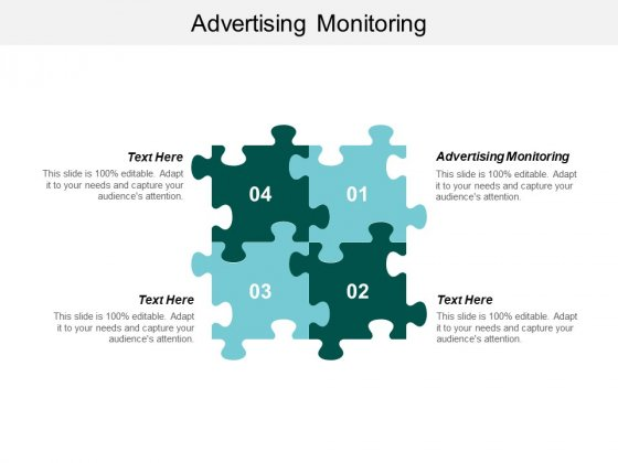 Advertising Monitoring Ppt PowerPoint Presentation Infographic Template Outline Cpb