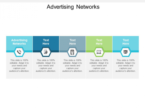 Advertising Networks Ppt PowerPoint Presentation File Aids Cpb