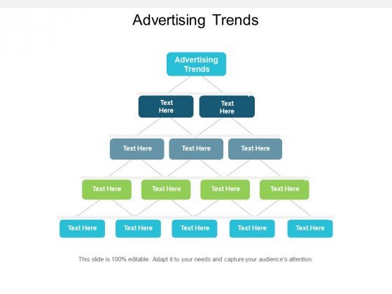 Advertising Trends Ppt PowerPoint Presentation Model Display Cpb