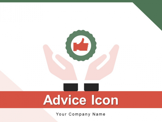 Advice_Icon_Comparison_Circle_Ppt_PowerPoint_Presentation_Complete_Deck_Slide_1