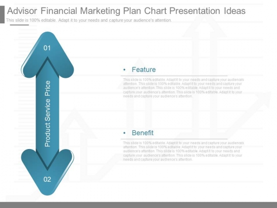Advisor Financial Marketing Plan Chart Presentation Ideas