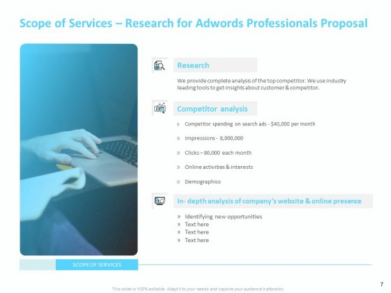 Adwords_And_PPC_Proposal_Template_Ppt_PowerPoint_Presentation_Complete_Deck_With_Slides_Slide_7