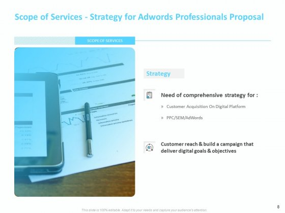 Adwords_And_PPC_Proposal_Template_Ppt_PowerPoint_Presentation_Complete_Deck_With_Slides_Slide_8
