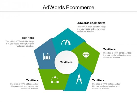 Adwords Ecommerce Ppt PowerPoint Presentation Outline Deck Cpb Pdf