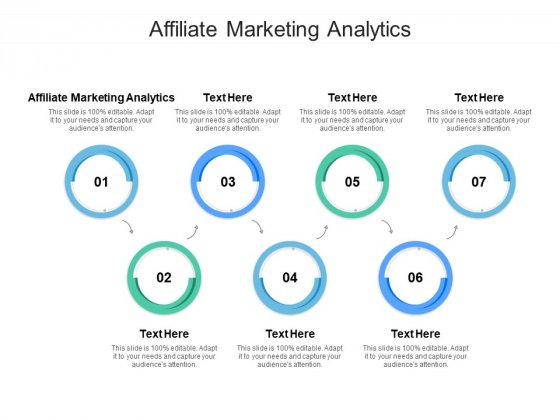 Affiliate Marketing Analytics Ppt PowerPoint Presentation Layouts Styles Cpb