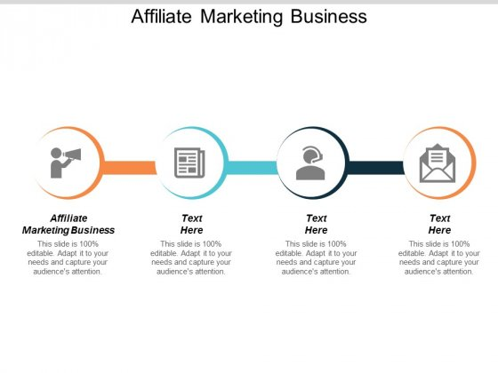Affiliate Marketing Business Ppt PowerPoint Presentation Styles Example Introduction Cpb