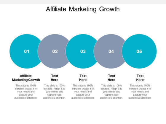 Affiliate Marketing Growth Ppt PowerPoint Presentation Show Background Images Cpb