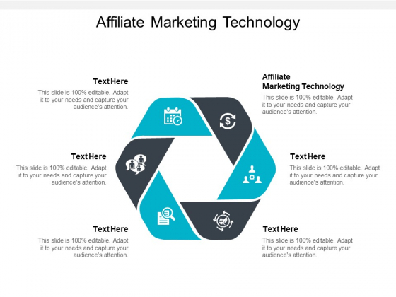 Affiliate Marketing Technology Ppt PowerPoint Presentation Slides Grid Cpb