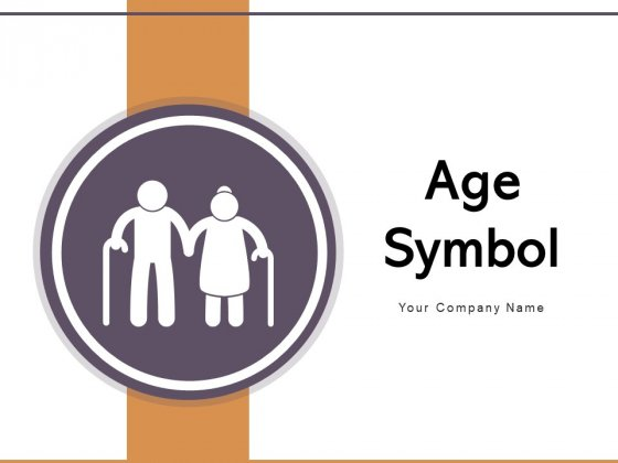 Age Symbol Plus Sign Pointing Arrow Ppt PowerPoint Presentation Complete Deck