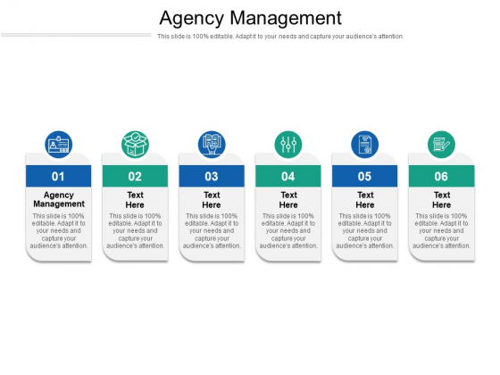 Agency Management Ppt PowerPoint Presentation Model Background Cpb Pdf