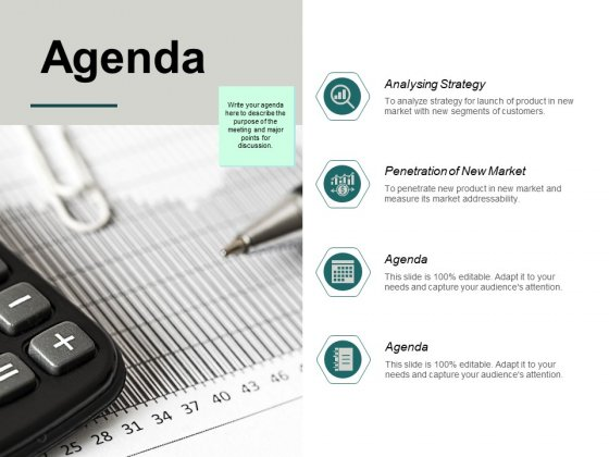 Agenda Analysing Strategy Ppt PowerPoint Presentation Layouts Clipart Images