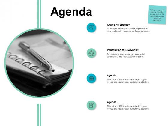 Agenda Analysing Strategy Ppt PowerPoint Presentation Model Template