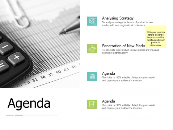Agenda Analysing Strategy Ppt PowerPoint Presentation Show Example