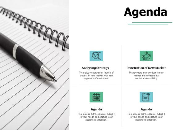 Agenda Analysing Strategy Ppt PowerPoint Presentation Styles Master Slide