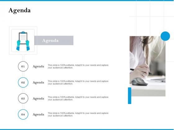 Agenda Customer Retention And Engagement Strategy Brochure PDF