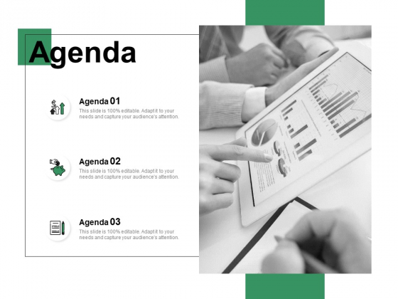 Agenda Financial Ppt PowerPoint Presentation Infographic Template Slide
