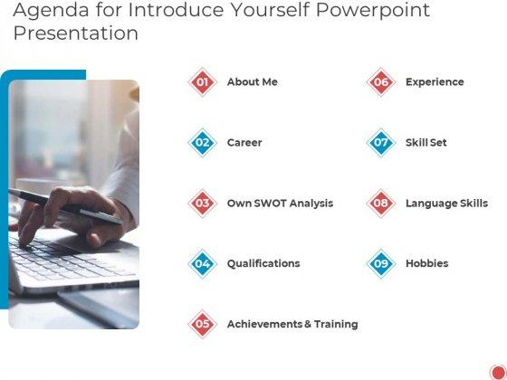 Agenda_For_Introduce_Yourself_PowerPoint_Presentation_Ppt_Professional_Influencers_PDF_Slide_1