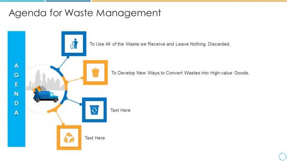 Agenda_For_Waste_Management_Discarded_Ppt_PowerPoint_Presentation_Gallery_Demonstration_PDF_Slide_1