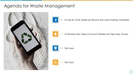 Agenda_For_Waste_Management_Value_Ppt_PowerPoint_Presentation_File_Outline_PDF_Slide_1