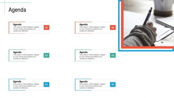 Agenda Initiatives And Process Of Content Marketing For Acquiring New Users Themes PDF