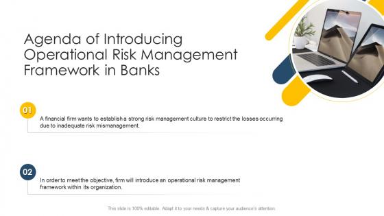 Agenda Of Introducing Operational Risk Management Framework In Banks Topics PDF