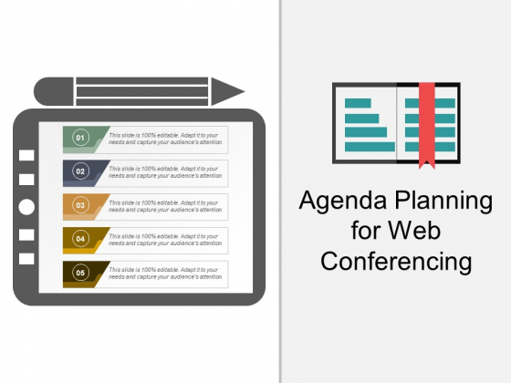 Agenda Planning For Web Conferencing Ppt PowerPoint Presentation Styles Design Inspiration