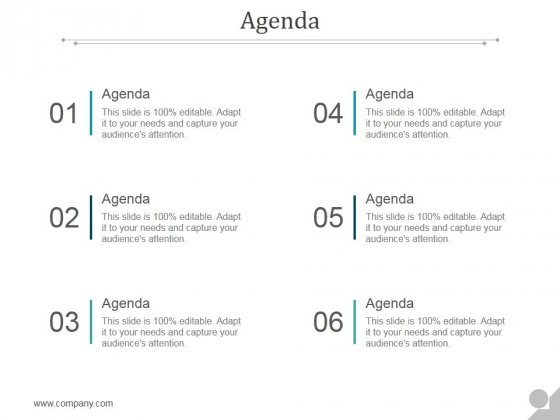 Agenda Ppt PowerPoint Presentation Deck