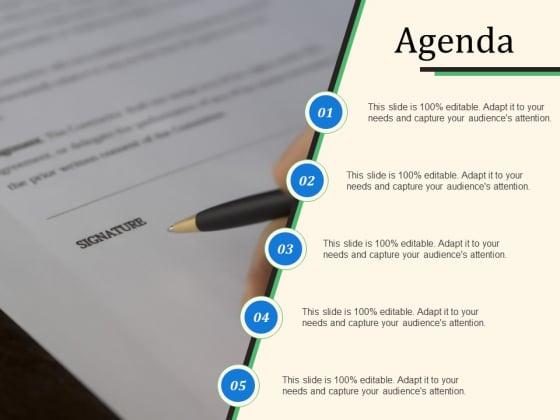 Agenda Ppt PowerPoint Presentation Icon Deck