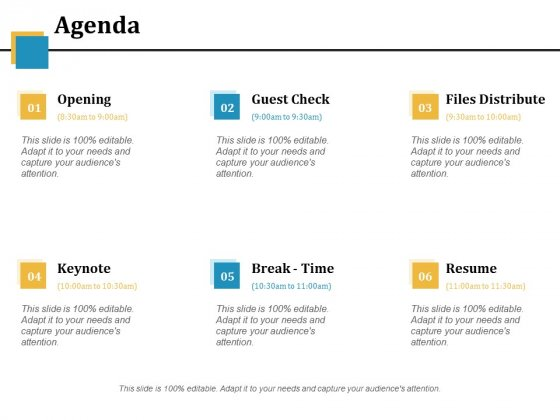 Agenda Ppt PowerPoint Presentation Infographics Slides