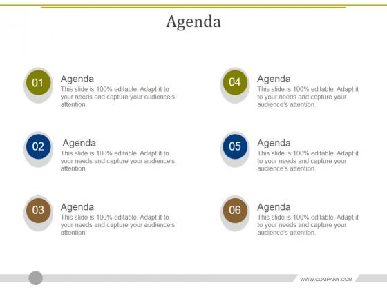 Agenda Ppt PowerPoint Presentation Model Deck