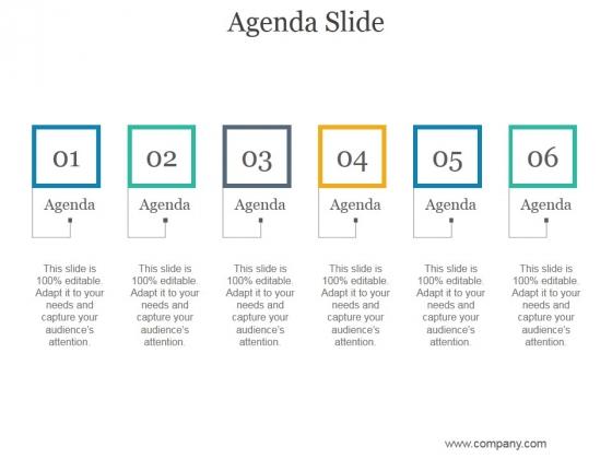 agenda slide in ppt