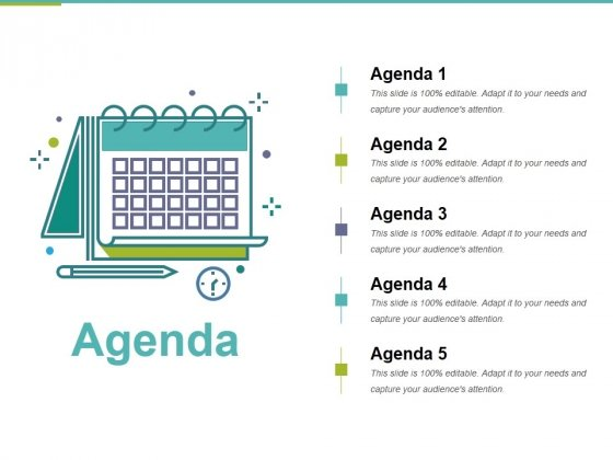 Agenda Template 5 Ppt PowerPoint Presentation Pictures Layouts