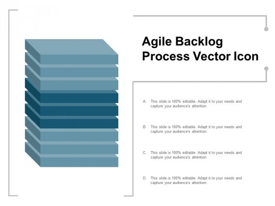 Agile Backlog Process Vector Icon Ppt PowerPoint Presentation Infographics Icons