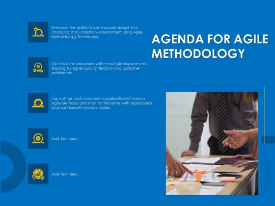 Agile Best Practices For Effective Team Agenda For Agile Methodology Ideas PDF
