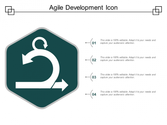 Agile Development Icon Ppt PowerPoint Presentation Professional Gallery