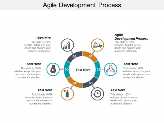 Agile Development Process Ppt PowerPoint Presentation Inspiration Backgrounds Cpb