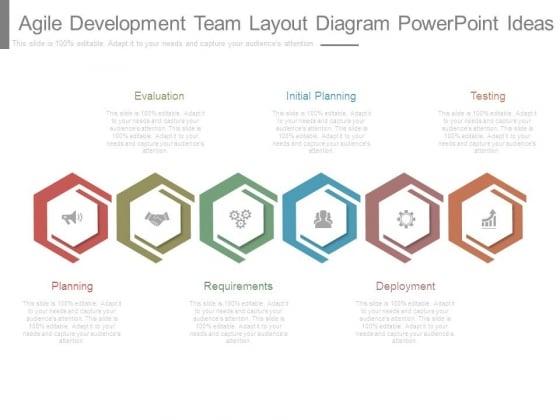 Agile Development Team Layout Diagram Powerpoint Ideas